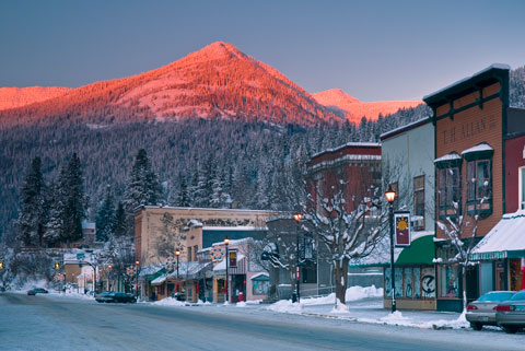 Downtown Rossland - Photo by Iain Reid