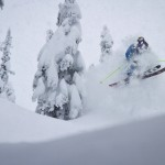 Poppin some air through the pow